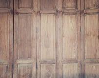 Vieux fond en bois de planche dans l'effet de vintage Photographie stock libre de droits