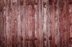 Vieux fond en bois de planches de barrière de texture de barrière images libres de droits