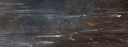 Vieux fond en bois de texture de brun foncé photo stock