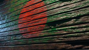 Vieux fond en bois de texture illustration stock
