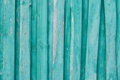 Vieux fond en bois des conseils avec la peinture criqu?e et d'?pluchage Texture en bois photos stock