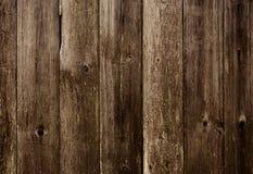 Vieux fond en bois foncé Image libre de droits