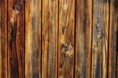Vieux fond en bois fonc? et brun clair de texture photographie stock