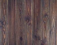 Vieux fond en bois grunge brun de planches Images libres de droits