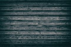 Vieux fond en bois inextricable noir des conseils en bois approximatifs photo stock