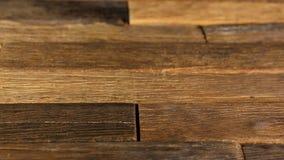 Vieux fond en bois normal banque de vidéos