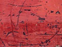 Vieux fond en bois rayé naturel rougeâtre photographie stock