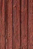 Vieux fond en bois rouge Images stock