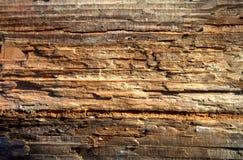 Vieux fond en bois rustique brun, surface en bois avec l'espace de copie Panneau, texture photo libre de droits
