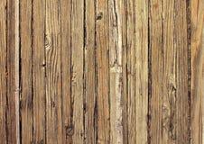 Vieux fond en bois superficiel par les agents Image libre de droits