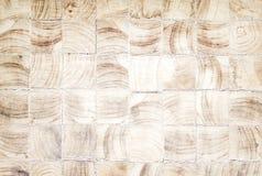 Vieux fond en bois, texture brune carrée de modèles de nature de bloc photographie stock libre de droits