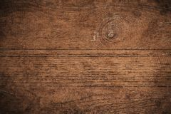 Vieux fond en bois texturisé foncé grunge, la surface de la vieille texture en bois brune, panneautage en bois de teck de brun de