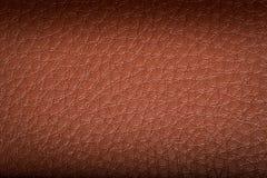 Vieux fond en cuir brun Texture Photo stock