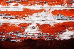 Vieux fond en métal et en bois Images stock