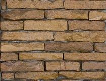 Vieux fond en pierre de mur de briques Photo libre de droits