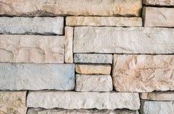 Vieux fond en pierre de texture de mur de briques de plan rapproché Photo stock