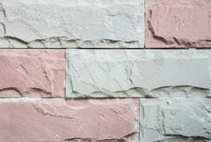 Vieux fond en pierre de texture de mur de briques de plan rapproché Images stock