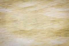Vieux fond en plastique jaune sale de store avec la poussière Photo stock