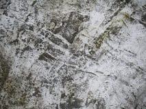 Vieux fond et texture de ciment noirs et blancs photo stock
