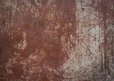 Vieux fond et texture de rouille de fer en métal Images stock