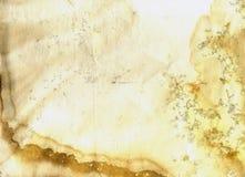 Vieux fond grunge de texture de coffre de thé Photo libre de droits