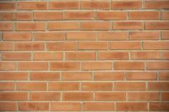 Vieux fond orange de texture de mur de briques Photos libres de droits