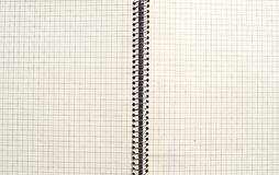 Vieux fond ou texture de papier vérifié Images libres de droits