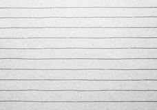 Vieux fond rayé de papier de carnet Photos libres de droits