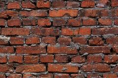 Vieux fond rouge de mur de briques image stock