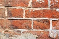 Vieux fond rouge de mur de briques images stock