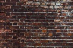 Vieux fond rouge de texture de mur de briques images stock