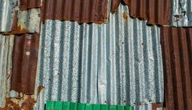 Vieux fond rouillé de texture de feuillard Photo libre de droits