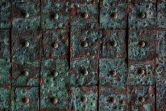 Vieux fond rouillé de tuile en métal photo libre de droits