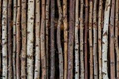 Vieux fond rustique de palissade Photographie stock libre de droits