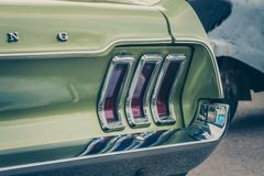 Vieux Ford Mustang image stock