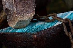Vieux forgeron d'outils Images stock