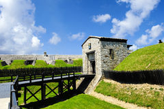 Vieux fort Niagara, New York Photo stock
