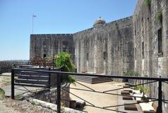 Vieux fort, ville de Corfou, Grèce Images libres de droits