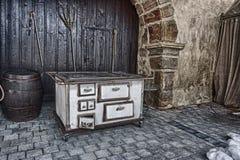 Vieux four Photographie stock