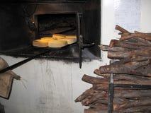 Vieux four de boulangerie de vintage image libre de droits