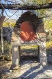 Vieux four de brique Photos libres de droits