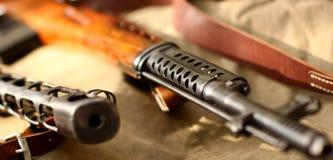 Vieux fusil d'armée image libre de droits
