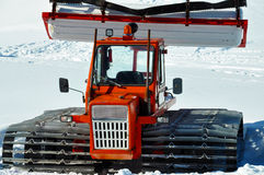 Vieux générateur de neige photographie stock libre de droits