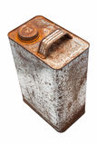 Vieux gallons d'huile Image libre de droits