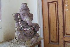 Vieux Ganesh Murti Image libre de droits