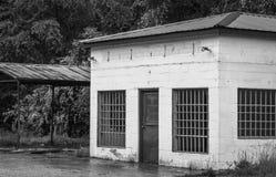 Vieux garage Images stock