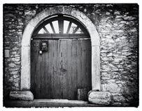 Vieux Gateway Image libre de droits