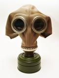 Vieux gaz-masque Photos stock
