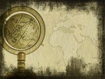 Vieux globe images libres de droits