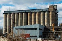 Vieux grain concret Photos stock